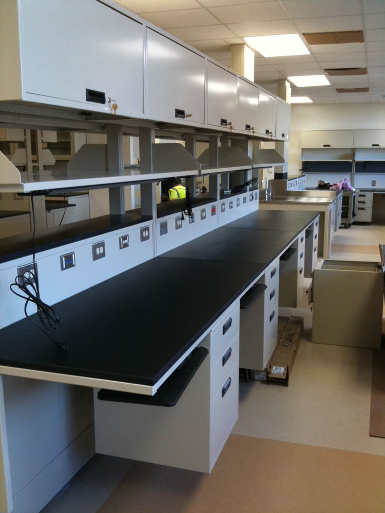 Adjustable System with Phenolic Resin Tops (2)