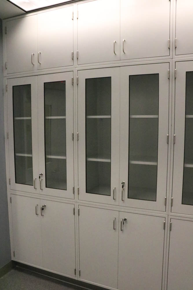 Fixed Steel Laboratory Casework- Tall Cabinets