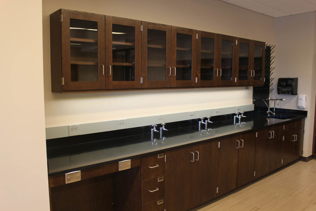 Fixed Wood Laboratory Casework