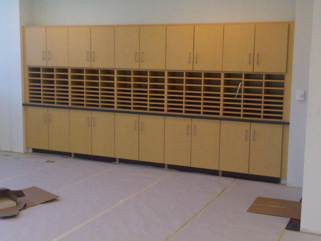 Millwork-Mail Box Cabinets