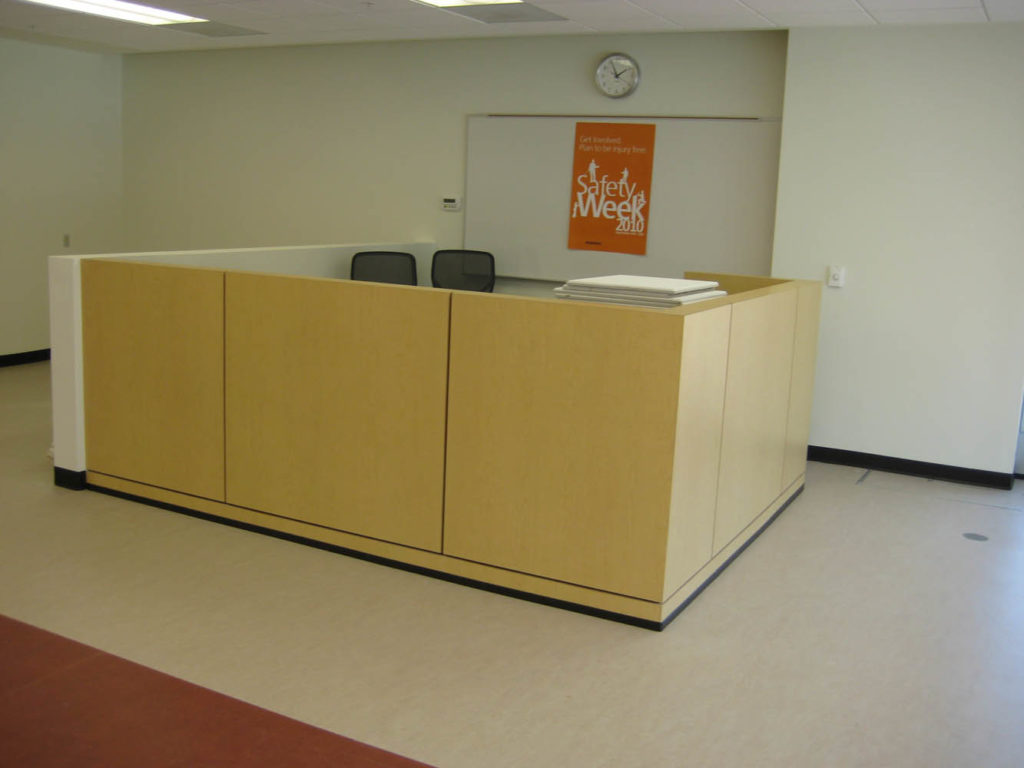 Millwork-Reception Desk