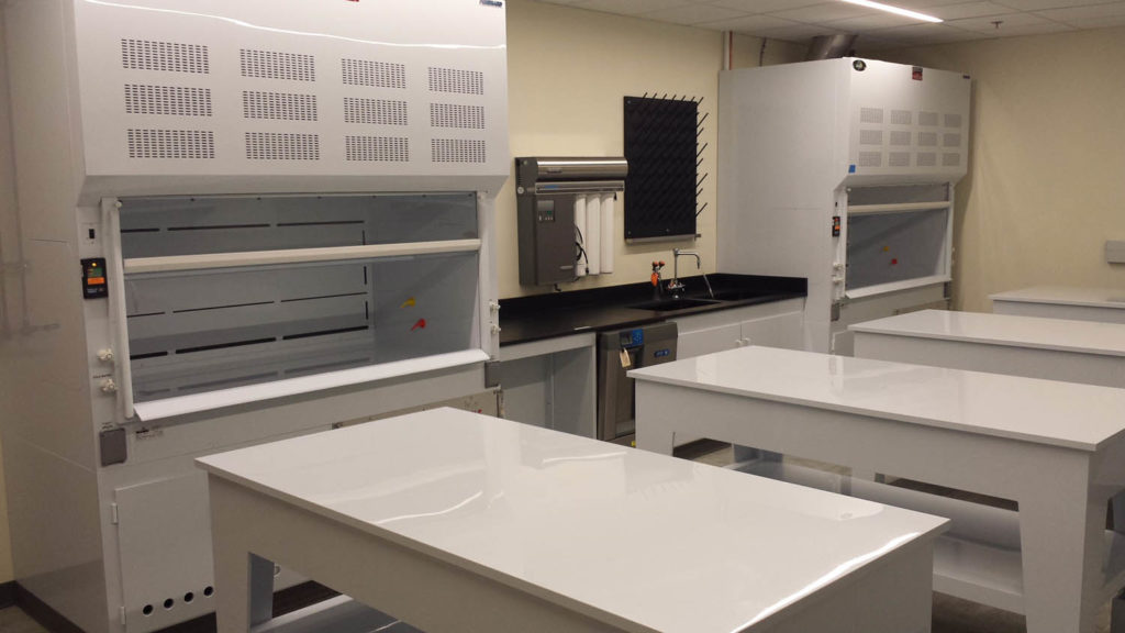 Polypropelene Hoods, Tables, Base Cabinets with Epoxy Tops (1)