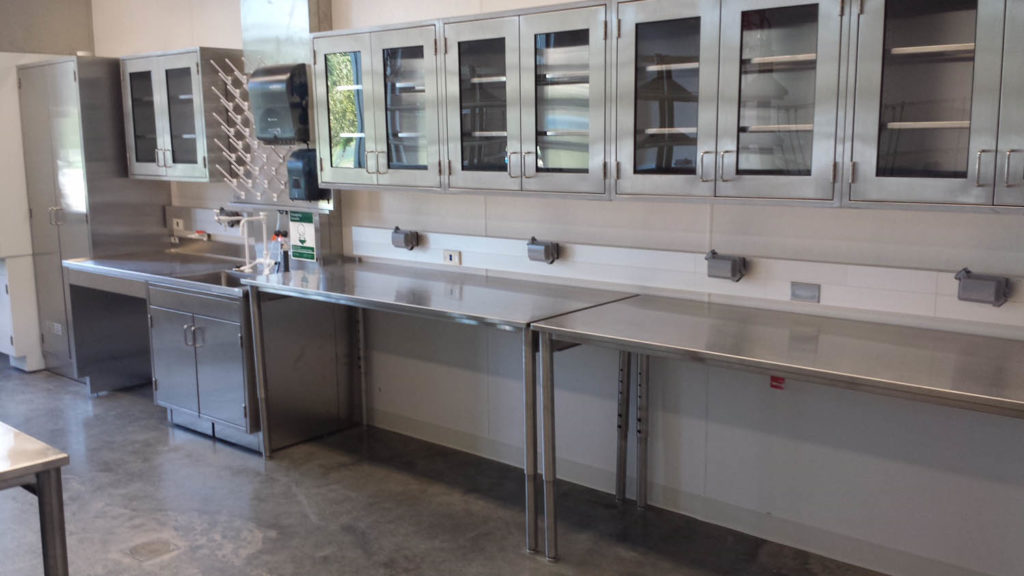 Stainless Steel Wall Cabinets and Tables
