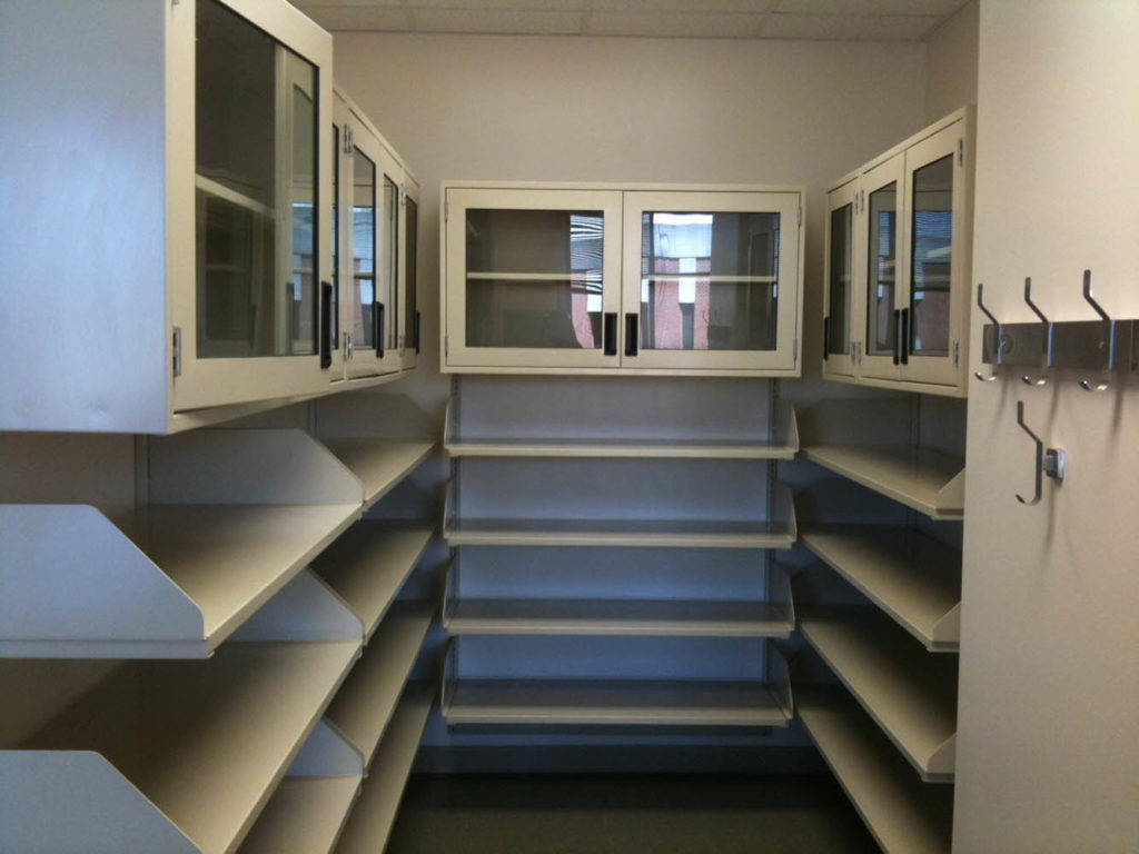 Steel Shelving and Wall Cabinets